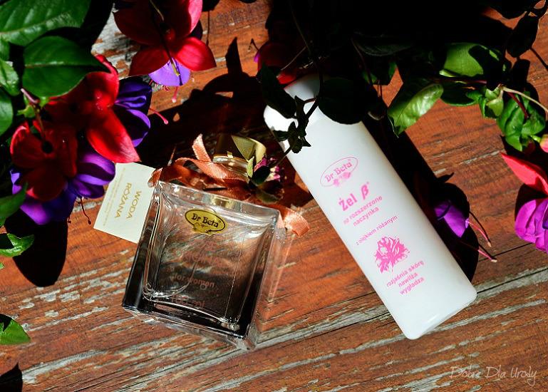 Różane kosmetyki Dr Beta - Woda różana i Różany  Żel B