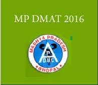 MP DMAT Admit card 2016