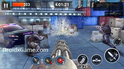 Download Game Android Elite Killer SWAT v1.5.0 Mod APK Unlimited Money