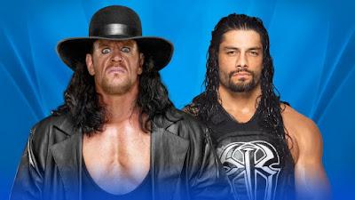 The Undertaker vs Roman Reigns