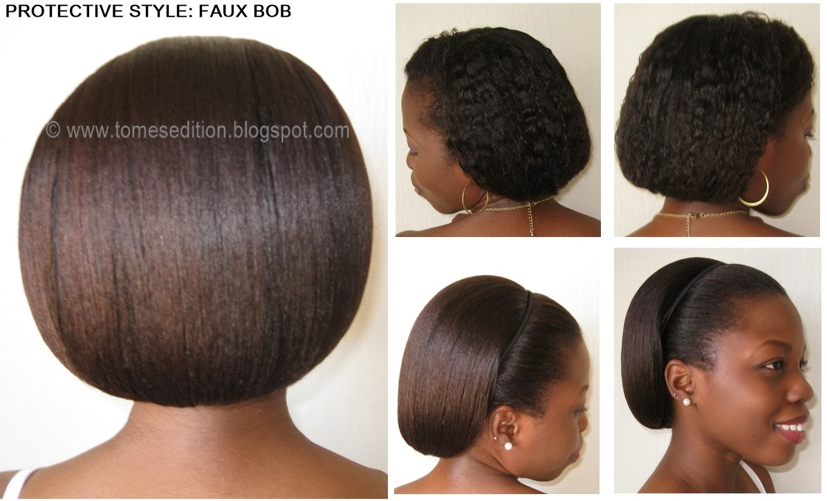 Awe Inspiring Tomes Edition Protective Hairstyles For Relaxed Texlaxed Short Hairstyles For Black Women Fulllsitofus