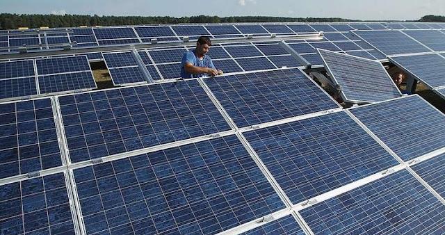 الطاقة الشمسية في صحراء الجزائر