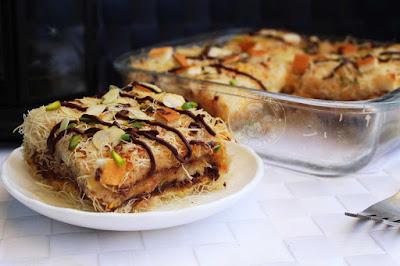 chattipathiri kunafa recipe malabar snacks snacks recipes lasana