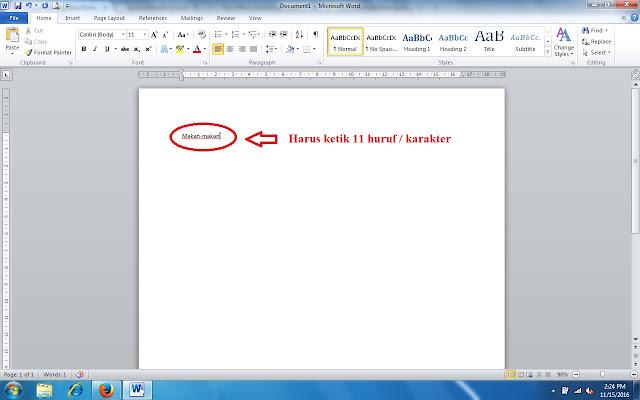 Membuat Auto Correct di Microsoft Office Word, Bisa Di Jadikan Kamus Pribadi Loh !!!