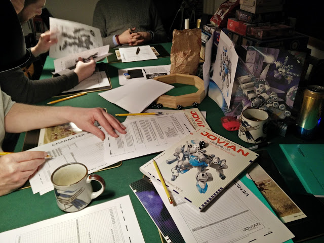 Jovian Chronicles rpg session