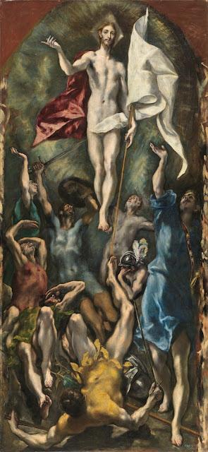El Greco - Resurreccion de Cristo - 1595-1600