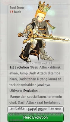 Arthur Evolution Lost Saga Indonesia