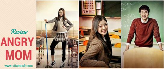 [K-Drama] Angry Mom, Ibu-Ibu Galak Jadi Siswi SMA