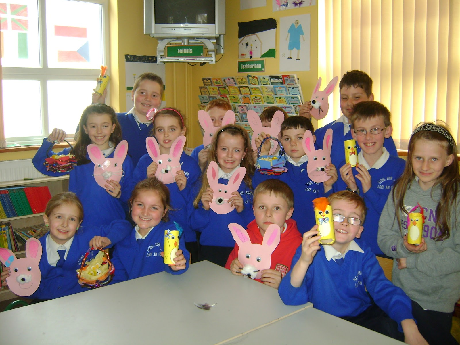 Easter Art Ideas For 4th Class