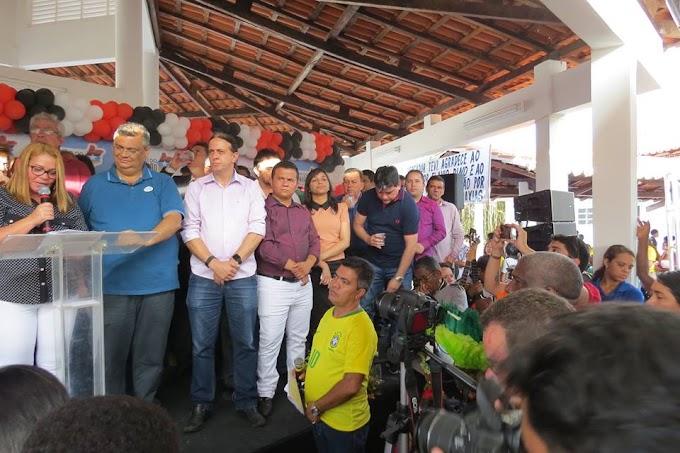 Prefeito Fábio Gentil solicita construção de Aeroporto e Restaurante Popular durante visita do governador Flávio Dino a Caxias