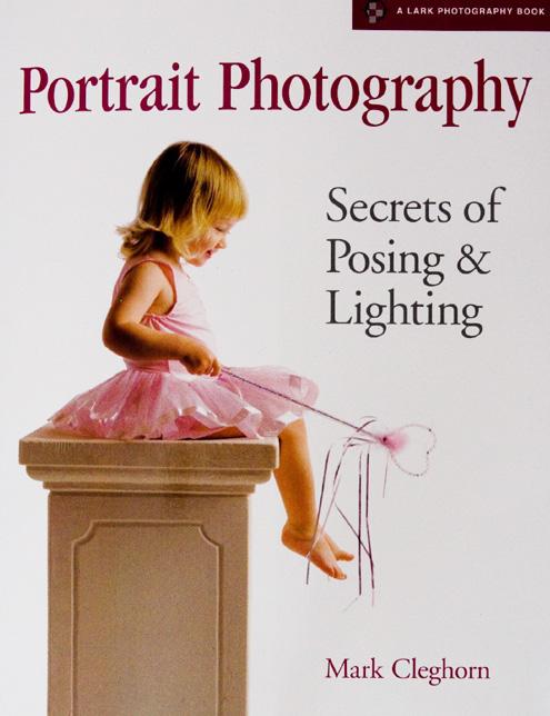 Portada libro: Fotografía de Retrato - Secretos de iluminación y pose