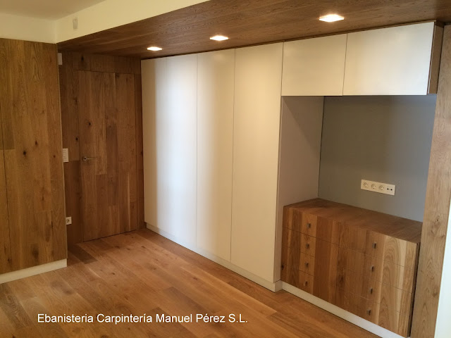 Ebanisteria carpinteria manuel perez zaragoza mueble for Mueble para televisor dormitorio