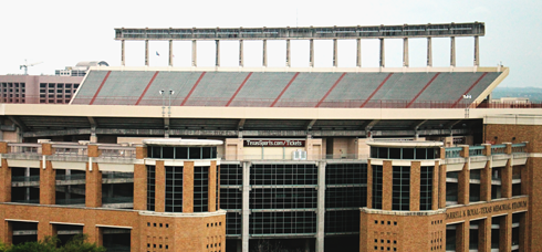 Texas Longhorns Football Stadium Austin