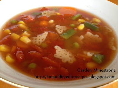 Garden Minestrone (Bug Soup) | Addicted to Recipes