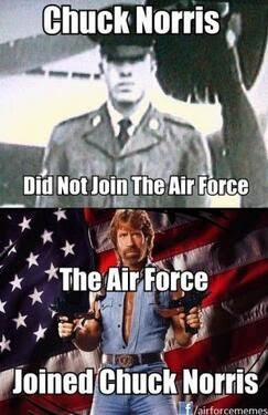 US Air Force finds 'awesome photo' of Chuck Norris '