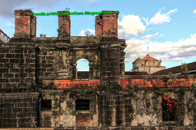 Back wall, San Augustin Church, Intramuros, Manila, Philippines