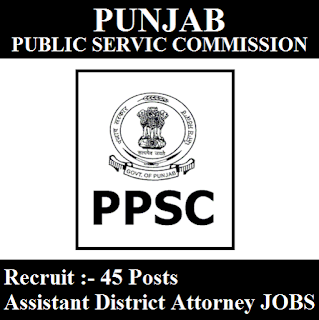 Punjab Public Service Commission, PPSC, Punjab, PSC, District Attorney, Graduation, freejobalert, Sarkari Naukri, Latest Jobs, ppsc logo