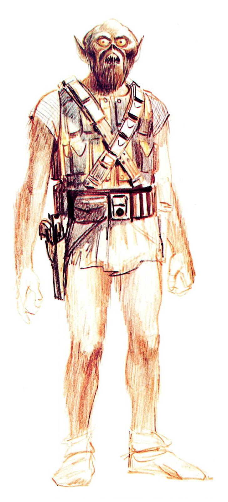 Original Chewbacca Conceptual art design