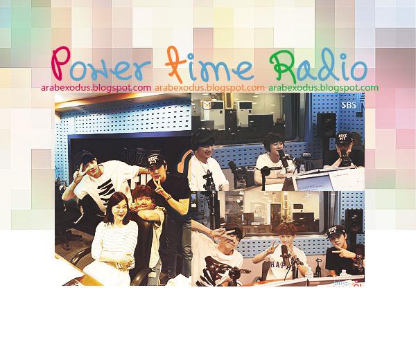 ترجمه || راديو Power Time  - تشانيول , تشين , سيهون