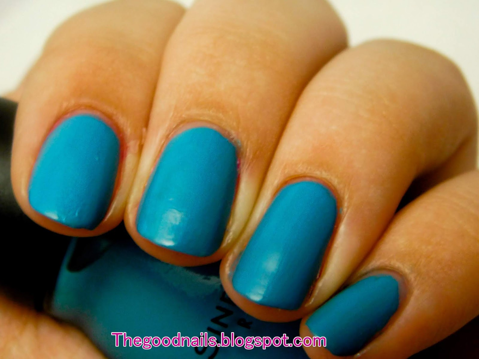 Sinful Colors Savage Teal Matte Nail Polish Swatch And Review