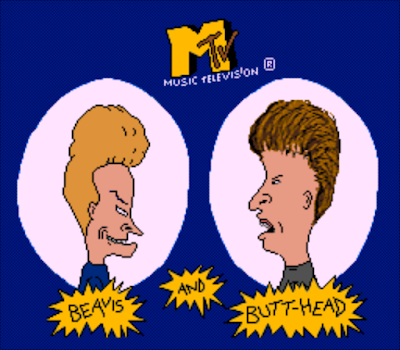 【SFC】極惡雙雄:MTV雙傻(Beavis.and.Butt-head)原版+無敵版!