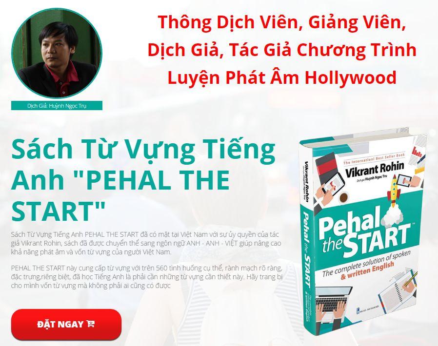 Sách học từ vựng tiếng anh Pehal The Start