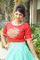 Lucky Shree Looks super cute in Bright Red Green Anarkali Dress ~  Exclusive 033.JPG