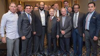 الأمير محمد بن سلمان يلتقي عدداً من رؤساء الشركات بأميركا