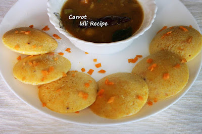 carrot idli recipe carrot idly perfect south indian breakfast