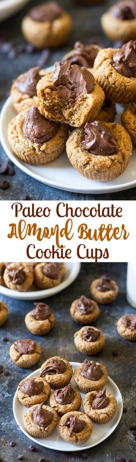 Paleo Chocolate Almond Butter Cookie Cups #Paleo #chocolate #Almond #Butter #Cookie #Cups #Besetcookies