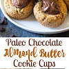 Paleo Chocolate Almond Butter Cookie Cups
