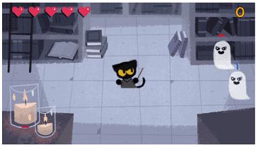 Game keren google halloween