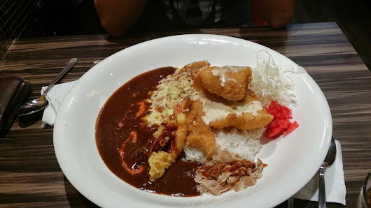 SHER & XIAN : Favourite Curry Rice - MONSTER CURRY @ nex