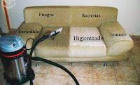 Lava a seco sofá