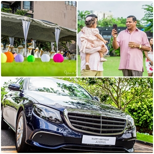 Benz worth 400 million as birthday gift to former Minister's grand-daughter!