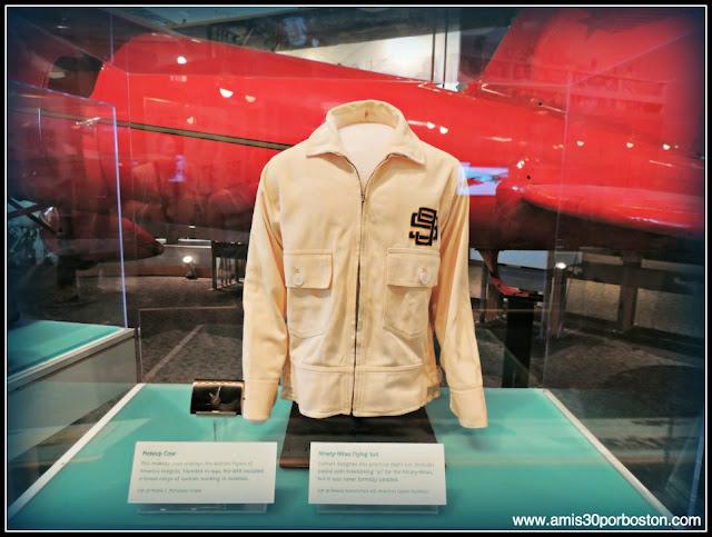Amelia Earhart en el Museo Nacional del Aire y el Espacio de Estados Unidos