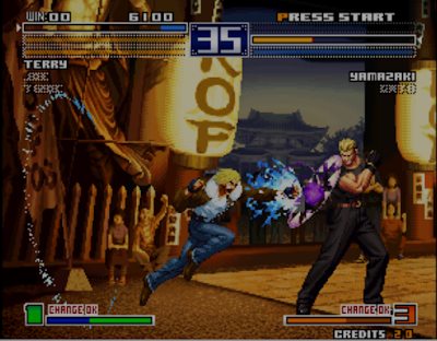 Ultra Rom the king of fighters 2003 - Screenshot 02