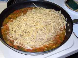 shrimp thang add pasta