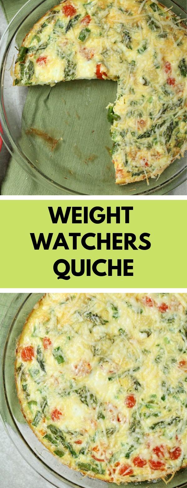 Weight Watchers Quiche #breakfast #glutenfree #vegetarian #weightwatchers