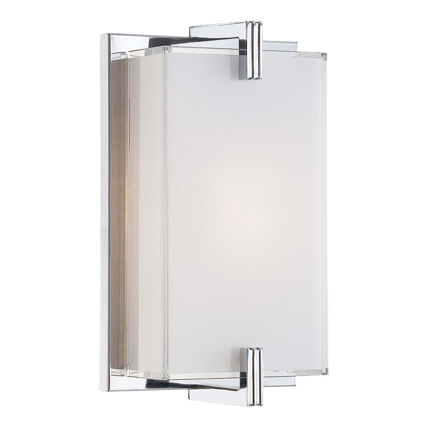 factory price 47299 9dbe9 Bath Sconces Modern. polished nickel single sconce light ...