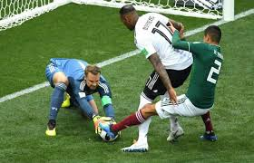 Defending Champions, Germany suffer 1-0 shock defeat to Mexico