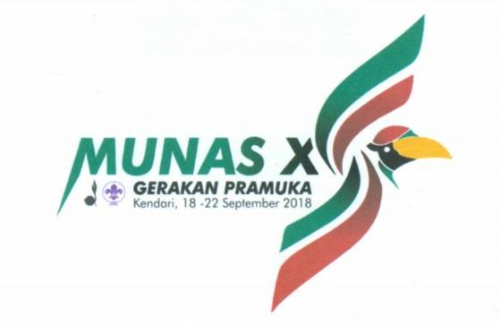 Tema dan Logo Munas Gerakan Pramuka X Tahun 2018