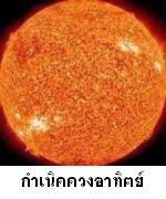 กำเนิดดวงอาทิตย์