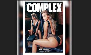 Kloe Kardashian en portada