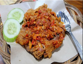 resep membuat ayam geprek kekinian