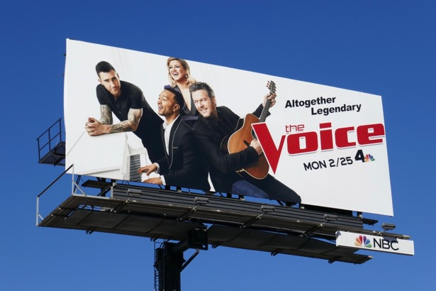The Voice season 16 billboard