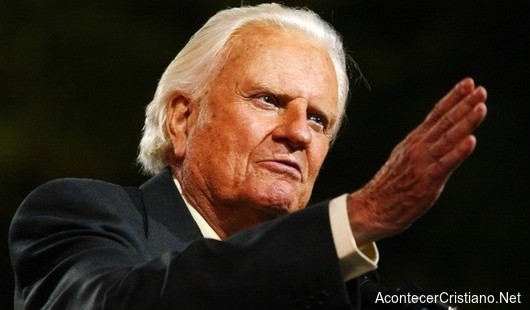 Billy Graham advierte de persecución en EEUU