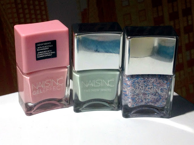 Nails Inc Gel Effect nail varnishes - beauty blog