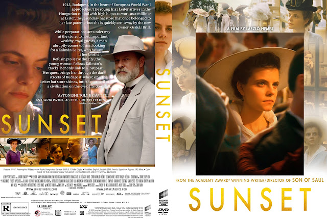 Sunset (Napszállta) DVD DVD Cover