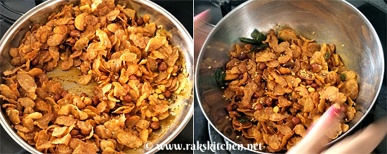 cornflakes mixture step 4